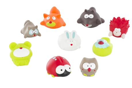Badabulle bathing animals forest - pack of 6 - большое изображение