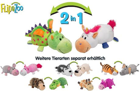 "Flip a Zoo 2 in 1 Plüschtiere ""Little FlipZees"" - Großbild"