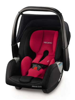 Recaro Babyschale Privia Evo Racing Red 2018 - Großbild