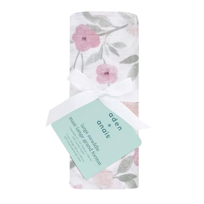 aden+anais Classic Swaddles, Single Pack -  * The versatile swaddles from aden+anais are the highlight in your everyday life with your newborn – ideal for collecting, cuddling and swaddling – a perfect gift.