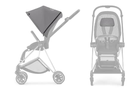 Cybex Platinum MIOS Color Pack  - * Komplett ist der stylische MIOS erst mit dem Cybex Platinum Color Pack.