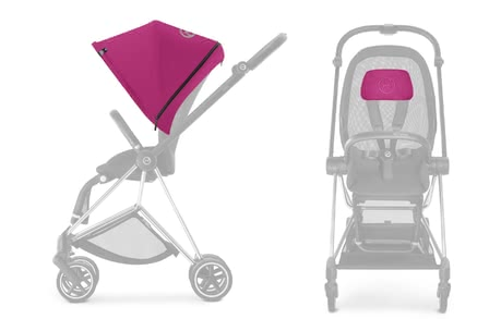 Cybex Platinum MIOS Color Pack  Mystic Pink_purple 2018 - Großbild