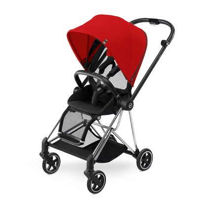 Cybex Platinum Buggy MIOS Komplettset inkl. Color Pack Autumn Gold_burnt red 2018 - Großbild