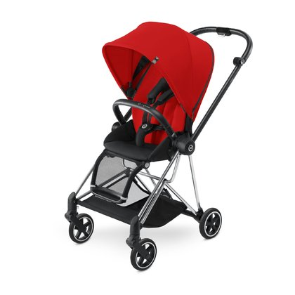 Cybex Platinum Buggy MIOS Komplettset inkl. Color Pack und Komforteinlage Autumn Gold_burnt red 2018 - Großbild