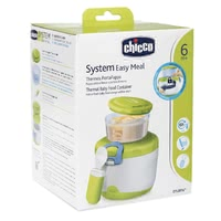 Chicco Easy Meal Isolierter Behälter für Babynahrung  System 6+ - * Der Chicco Easy Meal Isolierter Behälter für Babynahrung System 6+ enthält einen 180ml-Behälter und den isolierten Thermobehälter.