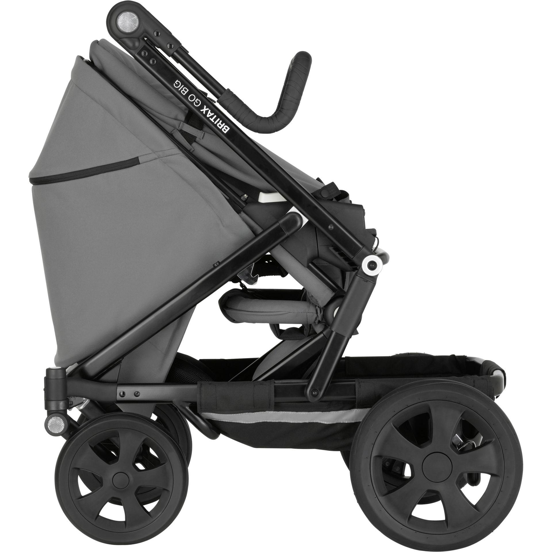 britax r mer kombikinderwagen go big 2 2018 steel grey go big online kaufen bei kidsroom. Black Bedroom Furniture Sets. Home Design Ideas