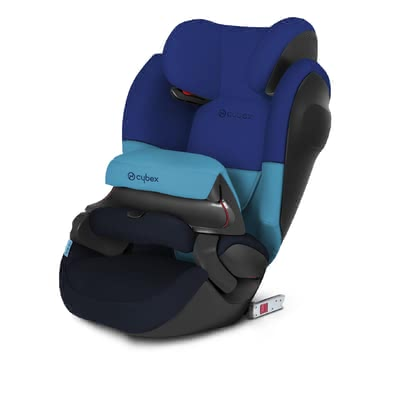 Cybex детское автокресло Pallas M-Fix SL Blue Moon-navy blue - большое изображение