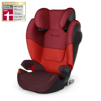 Cybex Kindersitz Solution M-Fix SL Rumba Red-dark red 2019 - Großbild