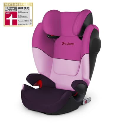Cybex Kindersitz Solution M-Fix SL Purple Rain-purple 2019 - Großbild
