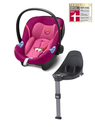 Cybex Infant Car Seat Aton M i-Size including Base M Passion Pink - purple 2018 - большое изображение