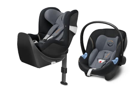 Cybex M-Line Child Car Seat Modular System i-Size Pepper Black - dark grey 2018 - большое изображение