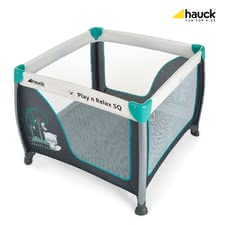 Hauck Allrounder Play and Relax SQ - * Das Hauck Allrounder Play and Relax SQ leistet als Laufgitter, Reisebett, Zweitbett oder als Spielecenter hervorragende Dienste.