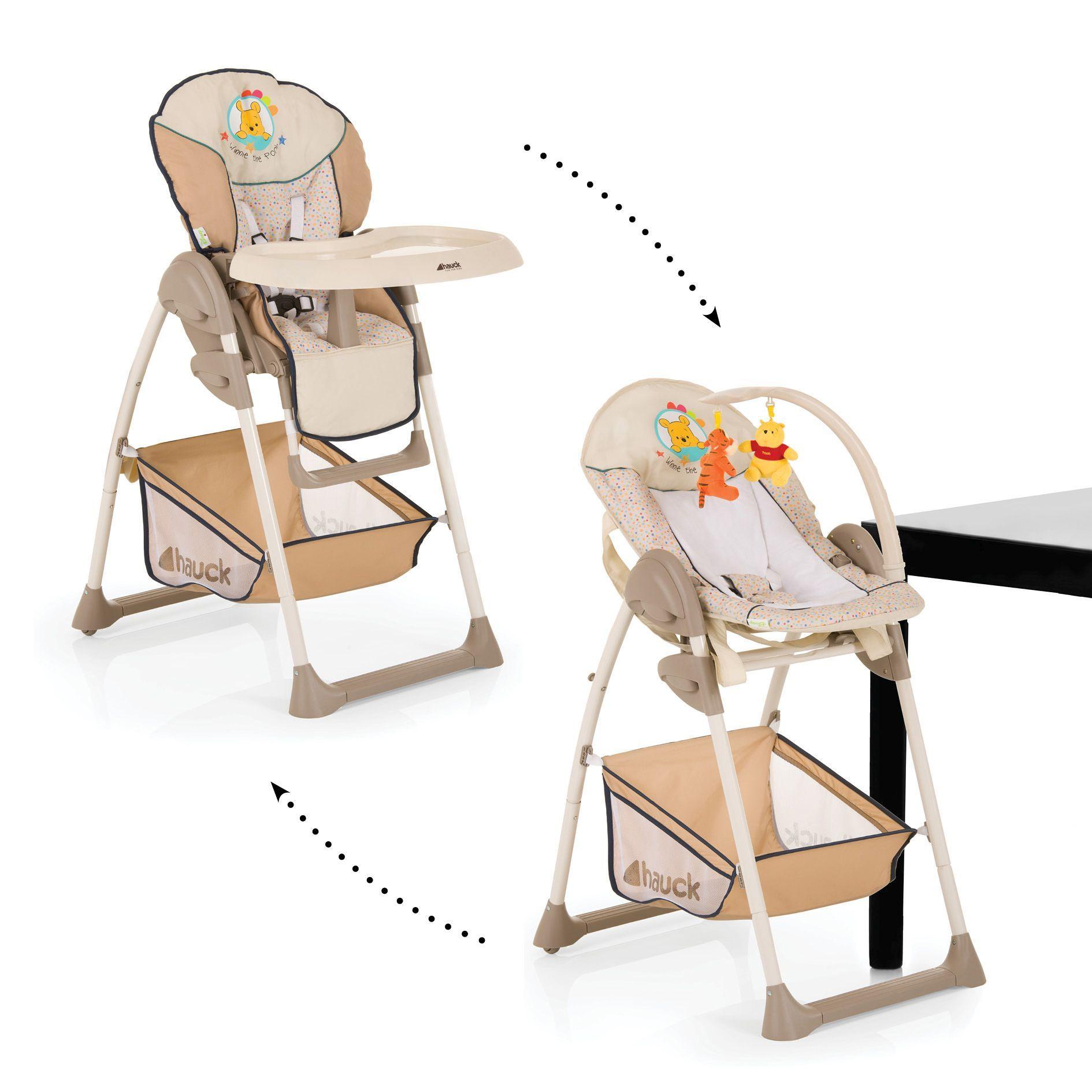 Hauck chaise haute sit 39 n relax winnie l 39 ourson 2018 acheter sur kidsroom alimentation - Chaise haute hauck winnie ...