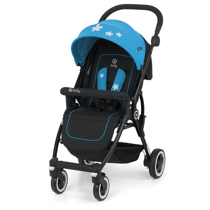 Silla de paseo Urban Star 1 Kiddy - Colores fuertes y la estrella distintiva kiddy dan 1 estrella urbana su cochecito compacto, kiddy mirada incomparable.