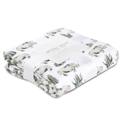 aden+anais White Label Silky Soft Dream Blanket Kuscheldecke serengeti 2018 - Großbild