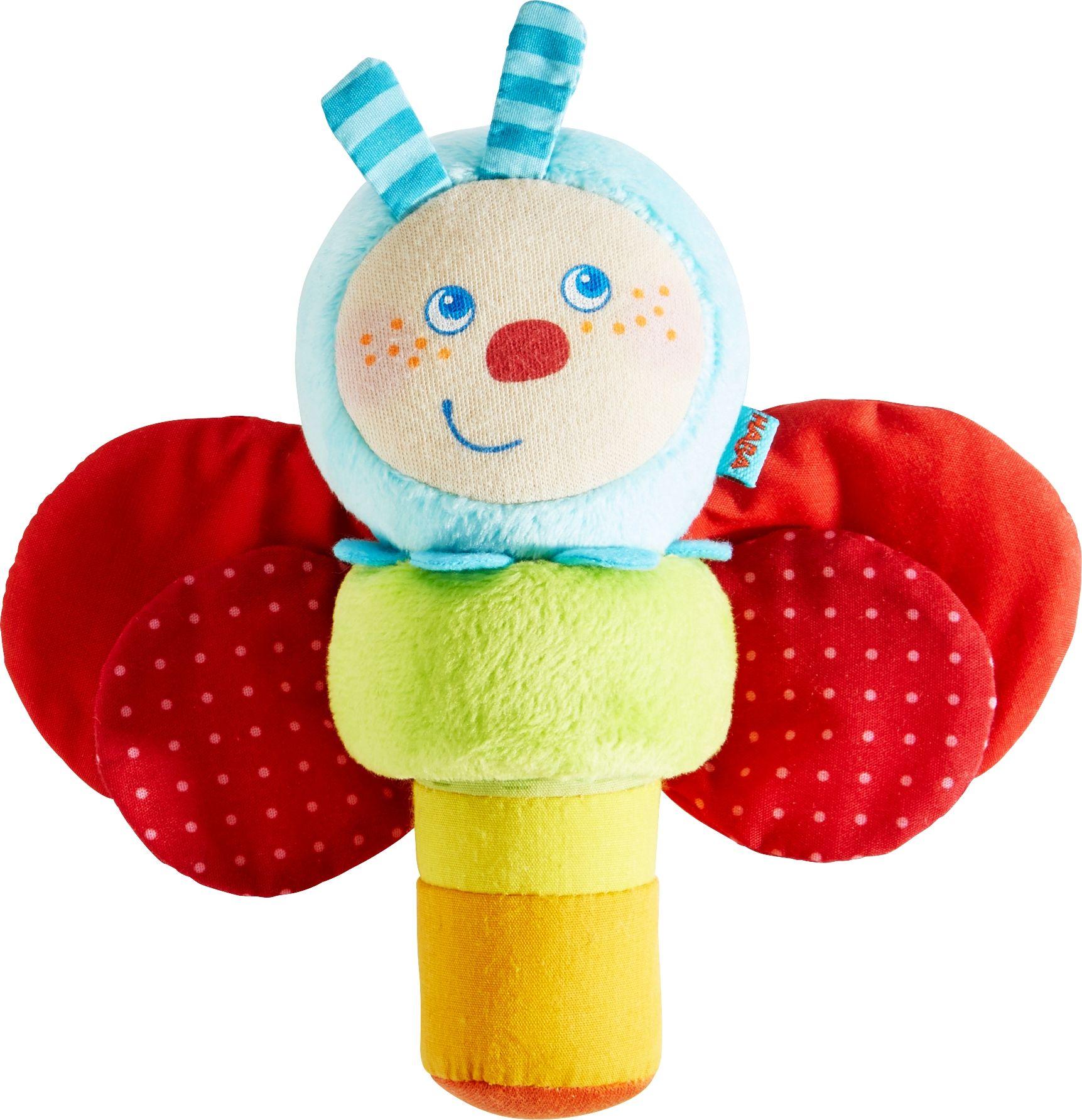 haba caterpillar mina clutching toy acheter sur kidsroom. Black Bedroom Furniture Sets. Home Design Ideas