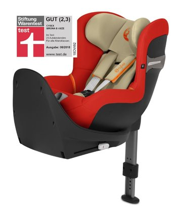 Cybex Kindersitz Sirona S i-Size Reborder Autumn Gold - burnt red 2018 - Großbild