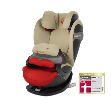Silla de Coche  Pallas S-Fix Cybex  Autumn Gold - burnt red 2018 - Imagen grande