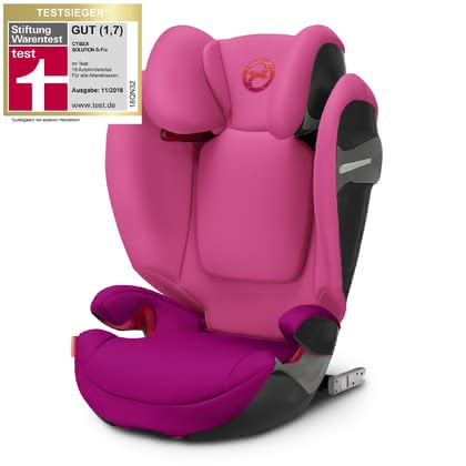 Cybex Kindersitz Solution S-Fix Passion Pink - purple 2018 - Großbild