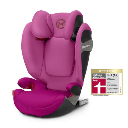 Cybex siège d'enfant Solution S-Fix Fancy Pink - purple 2019 - Image de grande taille