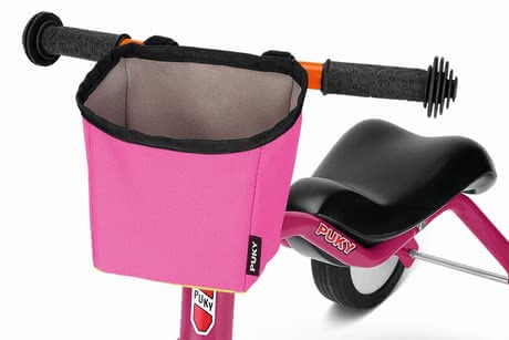 PUKY Handlebar Bag LT3 -  * The small handlebar bag LT3 by PUKY offers enough space to store some snacks and your little one's favourite cuddly toy. It is suitable for PUKY's PUKYLINO, WUTSCH and FITSCH, and can also be worn as a belt bag.