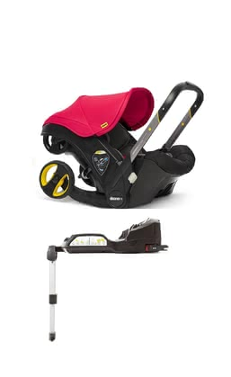 Doona+ mobile Babyschale inkl. Isofix Base Flame Red_rot 2020 - Großbild