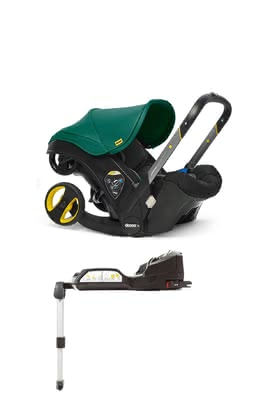 Doona+ mobile Babyschale inkl. Isofix Base Racing Green_grün 2020 - Großbild