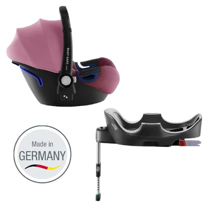 Britax Römer Babyschale Baby Safe 2  i-Size inkl. Flex Base - * ✓ergonomische Liegeposition ✓Neigungswinkelverstellung ✓patentierte SICT-Technologie ✓Made in Germany✓ i-Size Sicherheit