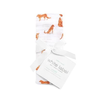 aden+anais White Label Silky Soft Swaddle Wickeltuch Single Pack serengeti 2018 - Großbild