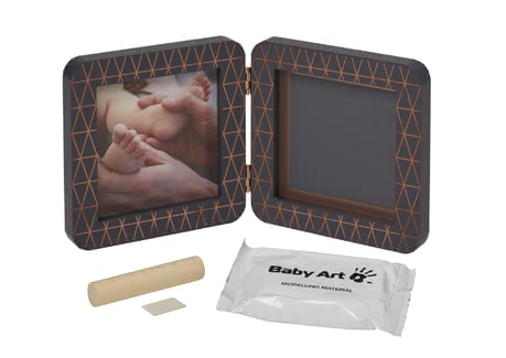 Baby Art My Baby Touch Bilderrahmen 2teilig -Copper Edition Dark - Großbild