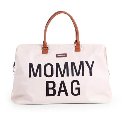 "Childhome sac à langer ""Mommy Bag"" - Occasionnel sur l'épaule ou à qui envoyer la main tenue- vaste espacedans le sac de rêve, convaincu les parents soucieux de la mode."
