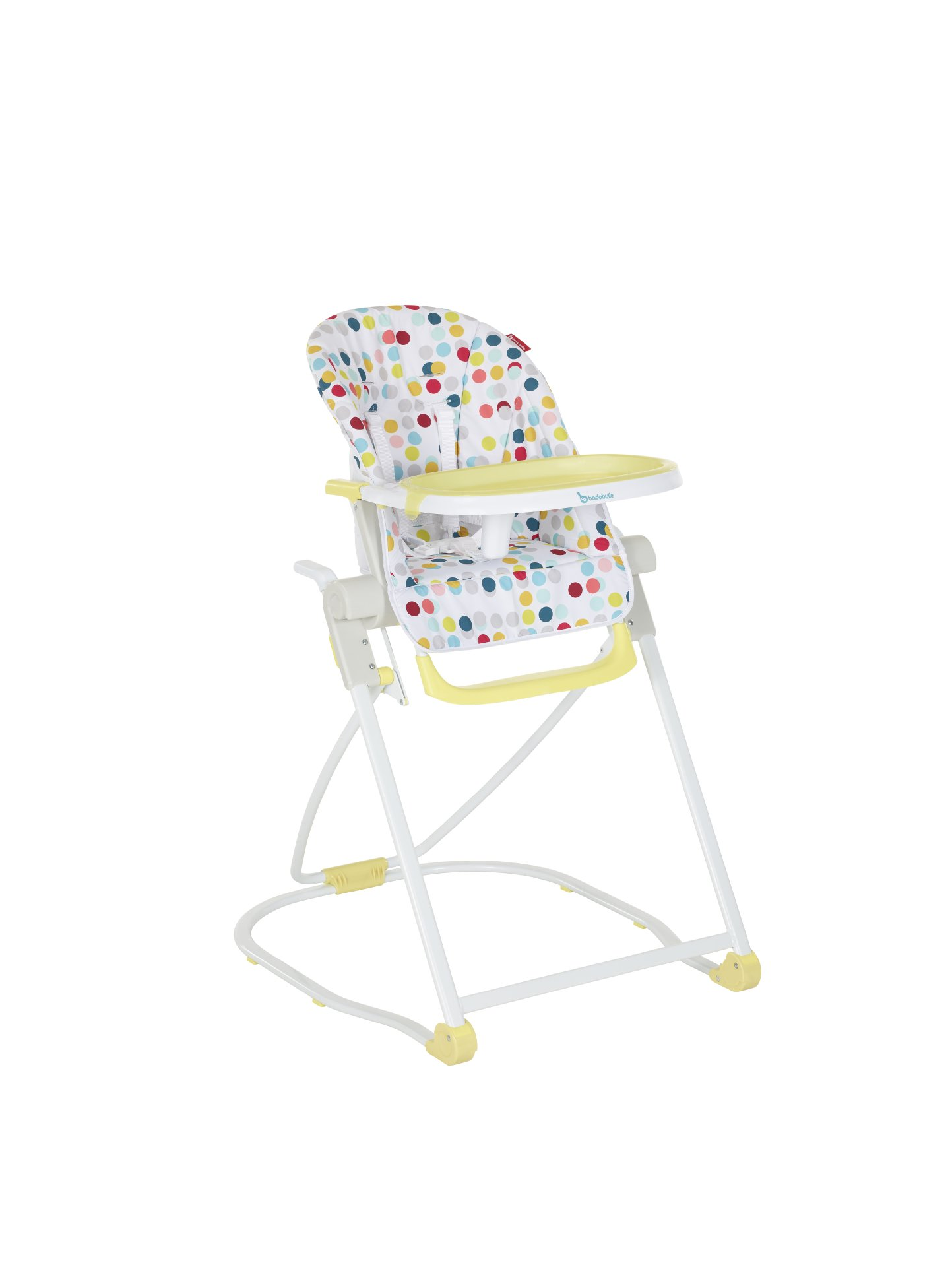 Image De 2018 Yellow Taille Grande Highchair Badabulle Compact Confetti RYaaXq