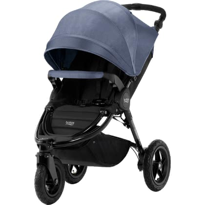 Britax Kinderwagen B-Motion 3 Plus inkl. Canopy Pack Blue Denim 2020 - Großbild