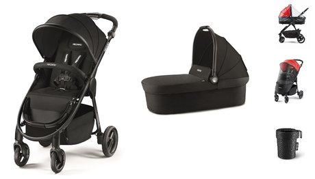 Recaro Pushchair Citylife Bundle Black 2018 - большое изображение