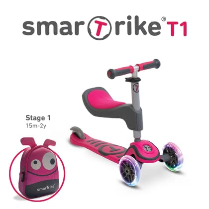 smarTrike scooter T1 pink - Image de grande taille