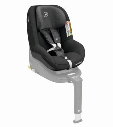 Maxi-Cosi Chid Car Seat Pearl Smart i-Size Nomad Black 2019 - Image de grande taille