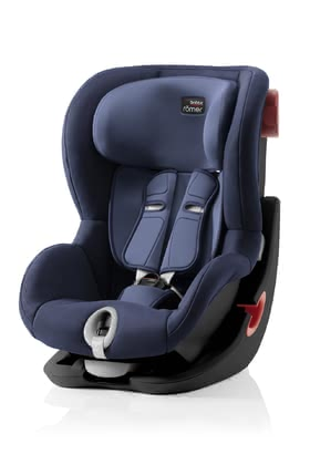 Britax Römer Silla de coche King II - Black Series Moonlight Blue 2020 - Imagen grande