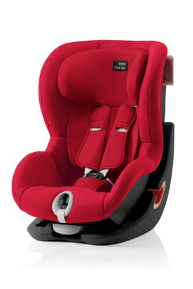 Britax Römer Kindersitz King II – Black Series Fire Red 2019 - Großbild