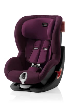 Britax Römer Kindersitz King II - Black Series Burgundy Red 2021 - Großbild