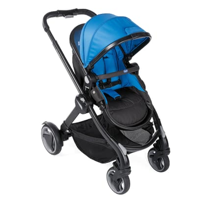 Chicco poussette Fully Power Blue 2019 - Image de grande taille