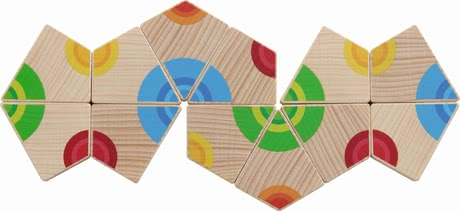 Haba Arranging Game Colourful Circles -  * The arranging game Colourful Circles by Haba trains the recognition and assignment of colours in a playful way.