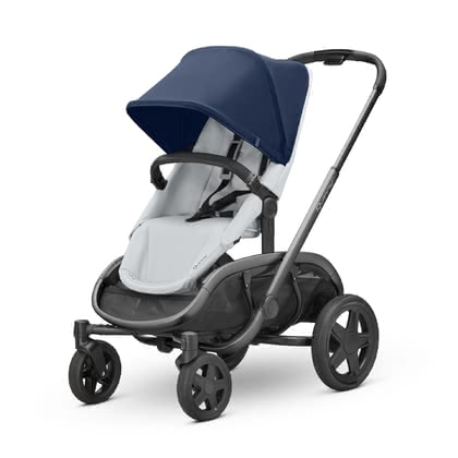 Quinny Kinderwagen Hubb Navy on Grey 2021 - Image de grande taille