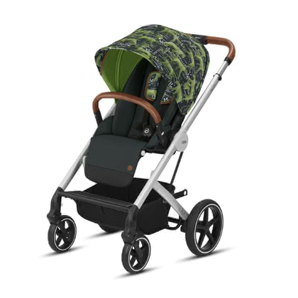Cybex Gold Values for Life детская коляска Balios S Respect_green 2019 - большое изображение