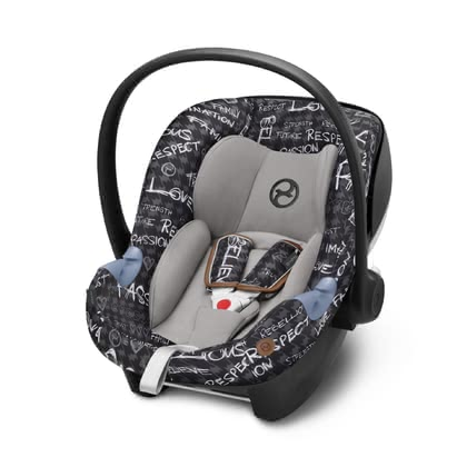 Cybex Gold Values for Life siège d'enfant Aton M i-Size Strength_dark grey 2019 - Image de grande taille