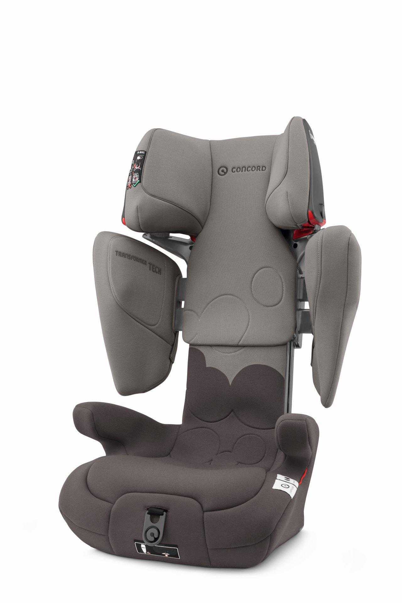 Concord Kindersitz Transformer Tech 2020 Moonshine Grey
