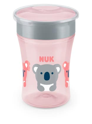 NUK Magic Cup - La NUK EVOLUTION Magic Cup acompaña a tu pequeño explorador mundial a partir del octavo mes y te permite beber como una taza normal.