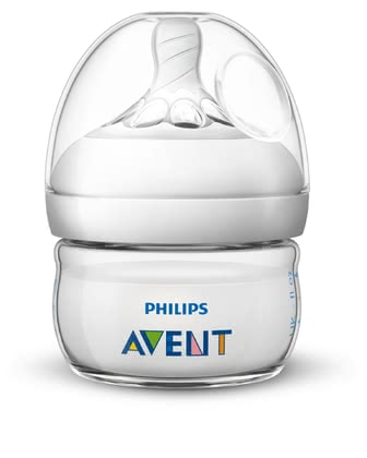 Philips AVENT飛利浦新安怡奶瓶Naturnah 2.0 60ml -  * The 60 ml Natural baby bottle is perfect for your new-born baby, as it provides just the right amount of food.