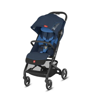 gb by Cybex багги Qbit+ All-City Night Blue_navy blue 2019 - большое изображение