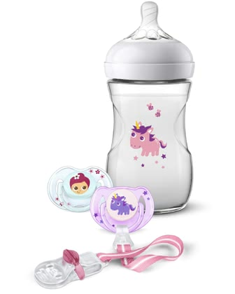 Philips AVENT飛利浦新安怡Naturnah 2.0禮物套裝 獨角獸 -  * The adorable Philips Avent Natural 2.0 gift set is the perfect present for parents-to-be and their tiny humans.