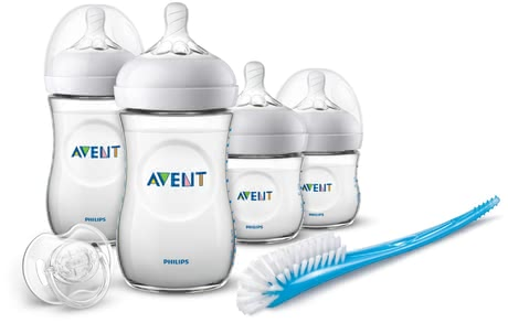 Philips AVENT Natural Neugeborenen-Set - * Das Natural Neugeborenen-Set von Philips AVENT macht die Kobination aus Stillen und Fläschchenfütterung jetzt noch einfacher.